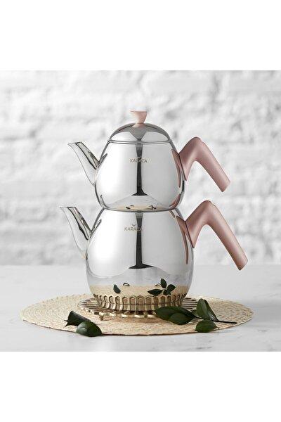 Merkür Large Rose Çaydanlık Takımı