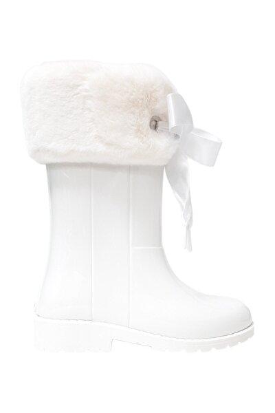 Campera Çocuk Yağmur Çizmesi Beyaz