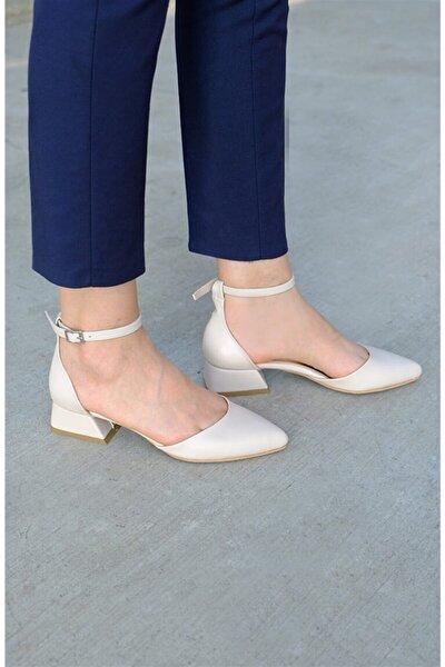 Mia Topuklu Ayakkabı Bej