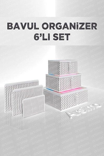 Bavul Organizer Ve Valiz Düzenleyici 6'lı Set