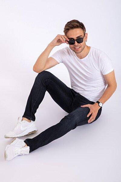 Erkek Slim Fit Kot Pantolon 2285-füme