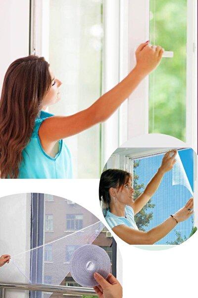 Kesilebilir Pencere Sinekliği Cırt Bantlı Yapışkanlı 100cm X 150cm