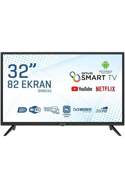 OV32151 32'' 81 Ekran Uydu Alıcılı HD Ready Smart Android LED TV