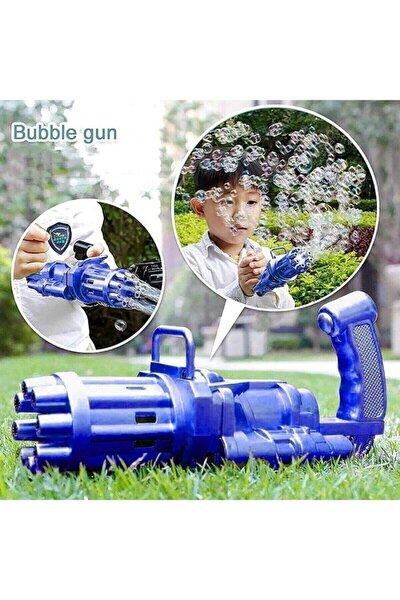 Pilli Köpüklü Oyuncak Köpük Makinesi Tabancası Bubble Machine +baloncuk Likitli