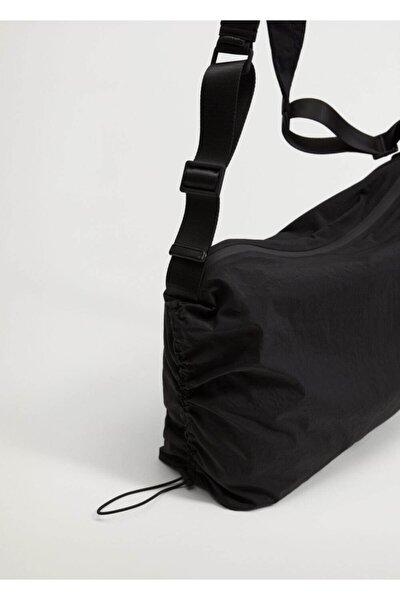 Büzgü Detaylı Çanta