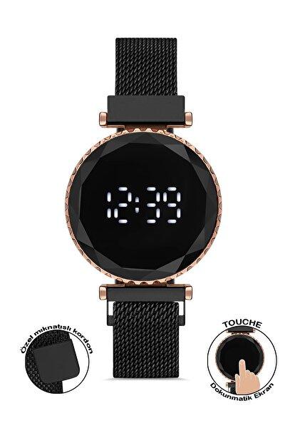 Plkdd005r02 Siyah Renkli Dokunmatik Kadın Kol Saati