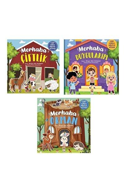 Cırt Cırtlı Kitap Seti - Merhaba Çiftlik / Merhaba Orman / Merhaba Duygularım