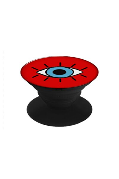 -kırmızı Göz Desen Popsocket
