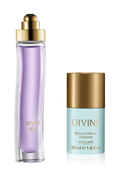Divine Royal Edt + Roll-on Deodorant
