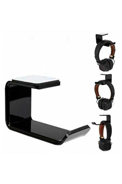 Oyuncu Kulaklık Standı Gaming Masa Askı Akrilik Mobilya Raf Stand Headphone Ünitesi Stant Tutucu