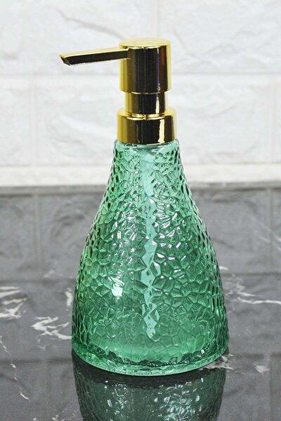 Valeria - Cam Sıvı Sabunluk Yeşil