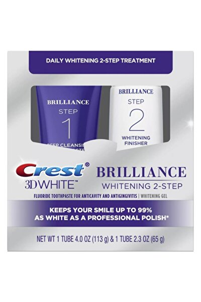 3d White Brilliance 2 Adımlı Diş Macunu