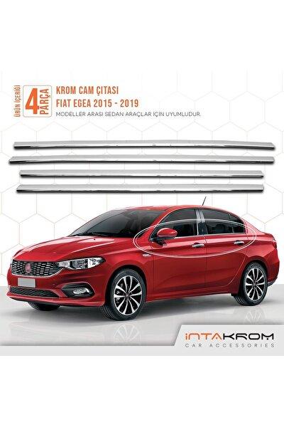 Fiat Egea Krom Cam Çıtası 4 Parça 2015 Ve Üzeri - Sd