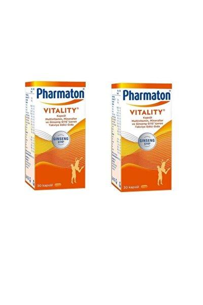 Pharmaton 30 Kapsül 2 Kutu Orjinal Ürün Den