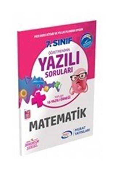 Murat Yayınları 7. Sınıf Matematik Öğretmenimin Yazılı Soruları