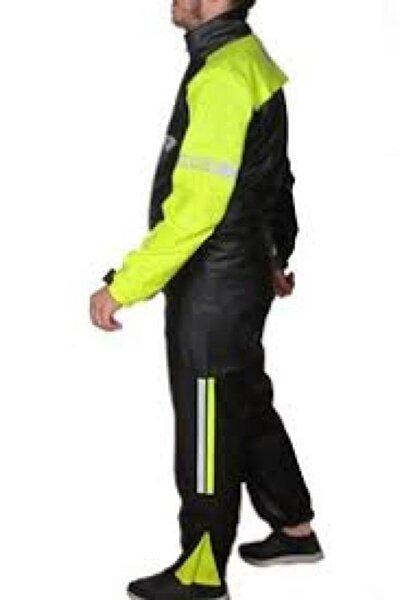 Forte Gt Pvc Kurye Motorsiklet Reflektörlü Yağmurluk Takımı