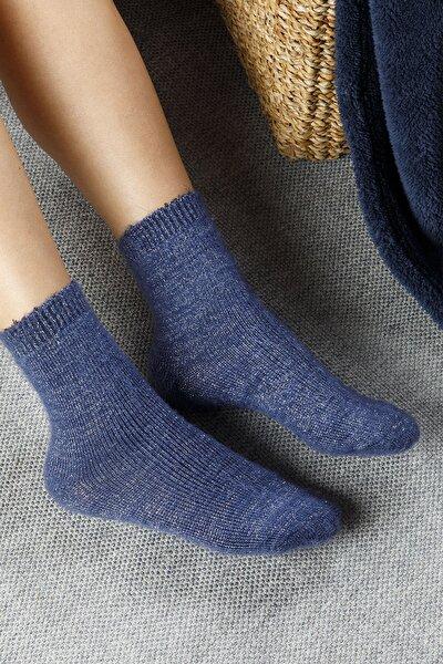 Elegance Polyamid Çorap Standart İndigo