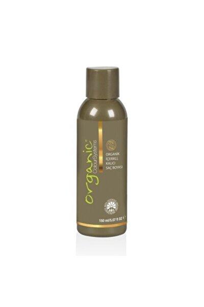 1 Siyah Organik Saç Boyası 150 ml