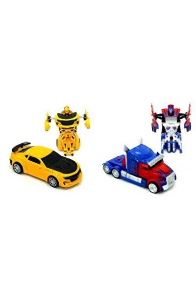 Transformers Bumblebee Optimus Prime Çek Bırak Robot Olan Oyuncak Arabalar