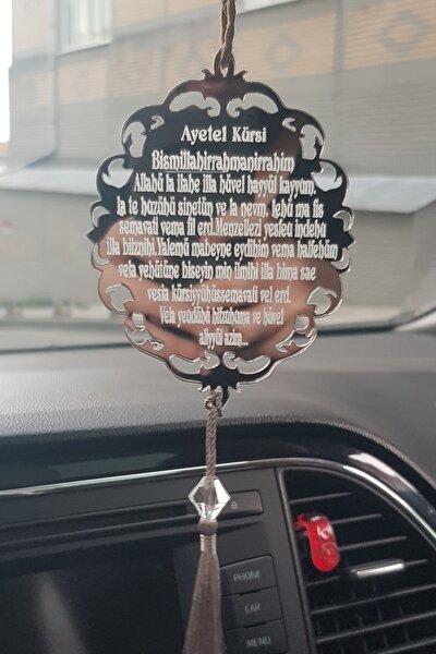 Pleksi Araba Süsü Ayet-el Kürsi Dikiz Aynası Süsü