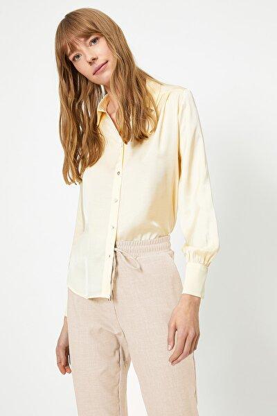Kadın Sarı Gömlek 0YAK68680PW