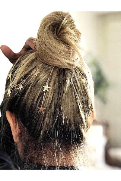 Kadın Aria Yıldızlı Saç Zinciri