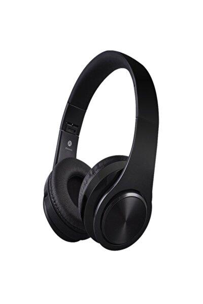 P68 Bluetooth'lu Kulaküstü Kulaklık, Mikrofonlu Kulaklık, Wireless Kablosuz Kulaküstü Kulaklık