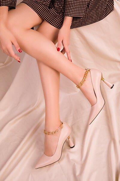 Ten Kadın Klasik Topuklu Ayakkabı 15632