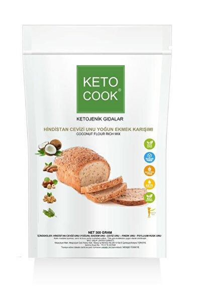 Ketojenik Hindistan Cevizi Unu Yoğun Ekmek Karışımı 300 gram