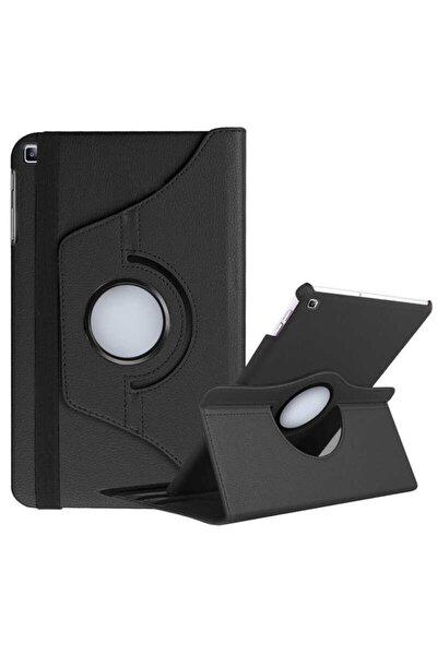 Tab A7 10.4 T500 Kapaklı Dönebilen Standlı Kılıf (ultra Koruma) Siyah