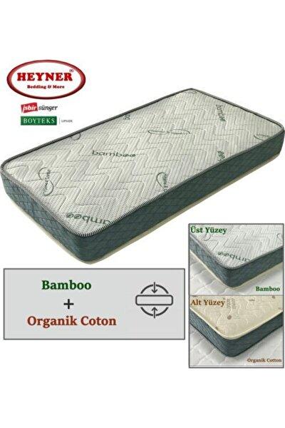 75x160 Çift Yönlü Bamboo Ve Organic Cotton Yaylı Yatak 75x160 Ortopedik Yaylı Yatak