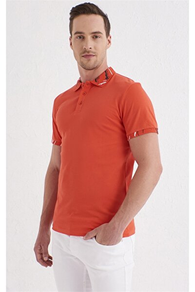 TS 755 Slim Fit Mercan Spor T-Shirt
