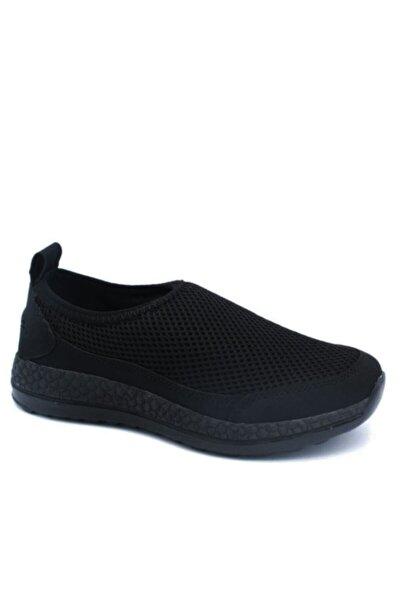 Kadın Siyah Spor Yürüyüş Ayakkabısı