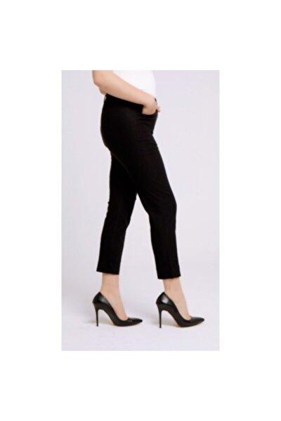 Kadın Siyah Phia Cropped Pantolon