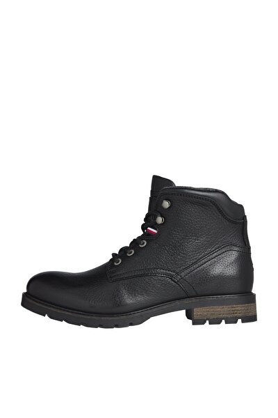 Erkek Siyah Bot & Bootie Classıc Warm Tumble Lth Boot FM0FM03056