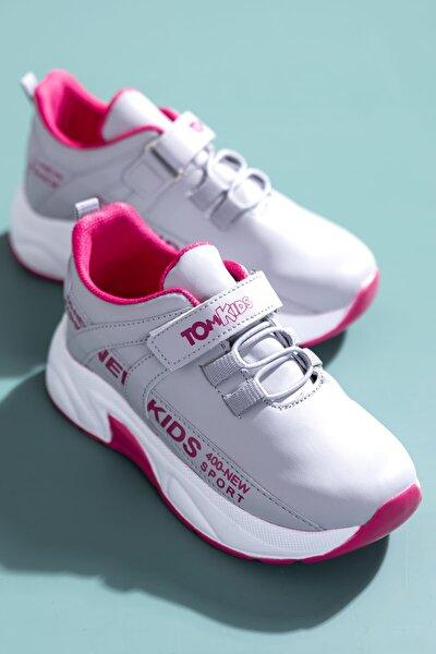 Buz Pembe Çocuk Spor Ayakkabı Dg674