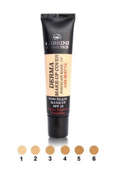 Derma Make-up Cover Fondöten 40ml Gabrini 1-açık Ton