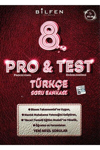 Bilfen 8. Sınıf Lgs Pro & Test Türkçe Soru Bankası 2020