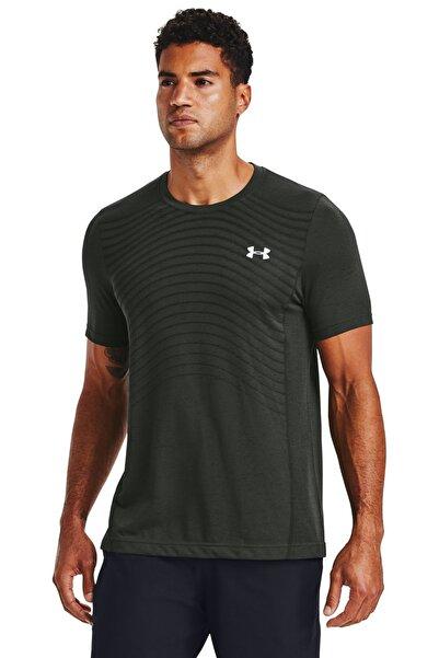 Erkek Spor T-Shirt - Ua Seamless Wave Ss - 1351450-310
