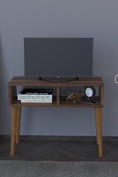 Retro Tv Sehpası Ünitesi - Ceviz