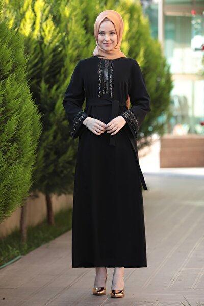 Kadın Siyah Henna Elbise