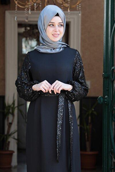 Kadın Siyah Nefes Elbise