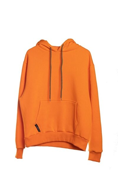 Unisex Turuncu Sweatshirt