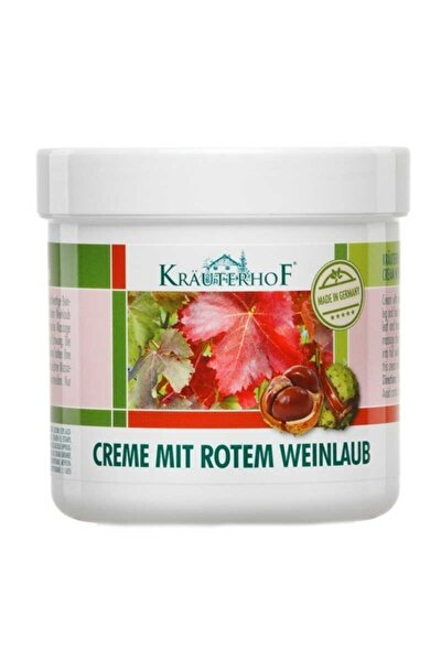 Kırmızı Asma Yaprağı Ve At Kestanesi Ekstreli Bacak Kremi 250 ml