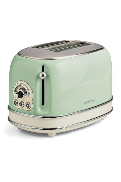Yeşil Vintage Ekmek Kızartma Makinesi