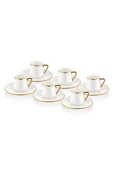 Kahve Fincanı Seti - 6 Kişilik Gold