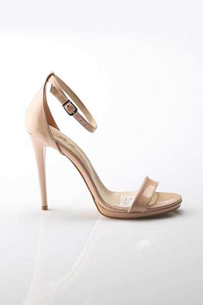 Kadın Ten Hakiki Deri Ayakkabı