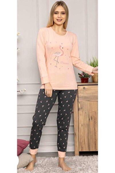 Kadın Uzun Kollu Pijama