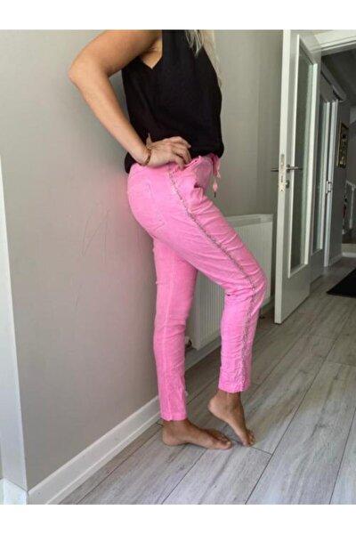 Kadın Pembe Pantolon