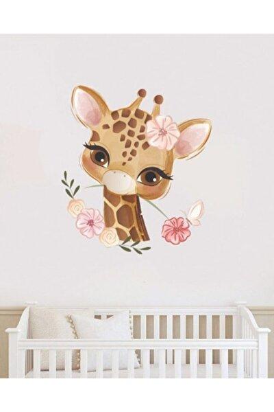 Zürafalı Duvar Stickerı
